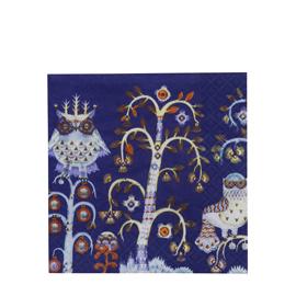 Taika blauw servet 33x33cm