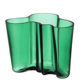 Aalto vaas 160 mm emerald