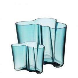 Aalto set: vaas 160 en 95 mm zeeblauw