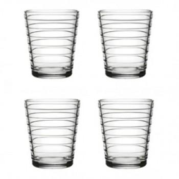 Aino Aalto set 4 glazen 90 mm helder
