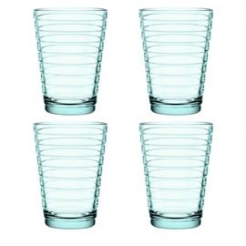 Aino Aalto set 4 glazen 113 mm watergroen