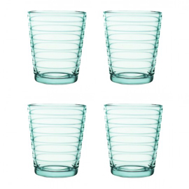 Aino Aalto set 4 glazen 90 mm watergroen
