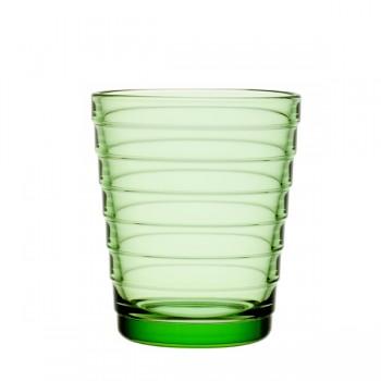 Aino Aalto glas 22 cl / 90 mm appelgroen