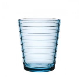 Aino Aalto glas 22 cl / 90 mm lichtblauw  (Gaat uit collectie!!!)