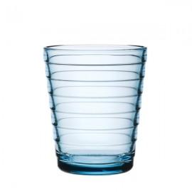 Aino Aalto glas 22 cl / 90 mm lichtblauw