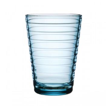 Aino Aalto glas 33 cl / 113 mm lichtblauw  (Gaat uit collectie!!!)