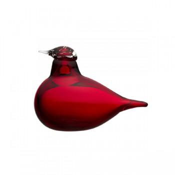 Birds by Toikka: Kleine Stern, cranberry rood