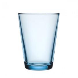 Kartio lichtblauw glas 40 cl   (Uit collectie!!!)