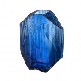 Kartta glazen beeld 240x320mm blauw