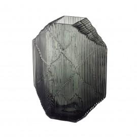 Kartta glazen beeld 240x320mm donkergrijs