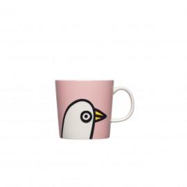 """Oiva Toikka collection """"Birdie Pink"""" beker"""