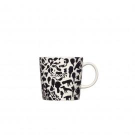 "Oiva Toikka collection ""Cheetah black/white"" beker"