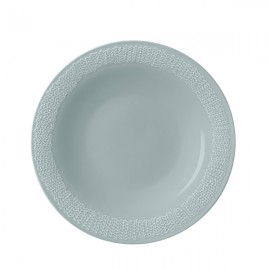 Sarjaton plat bord 22 cm Letti parel grijs