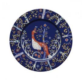 Taika blauw bord 22 cm