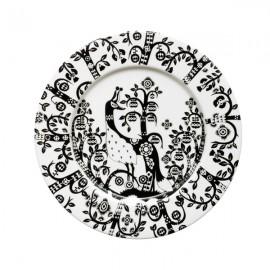 Taika zwart bord 22 cm