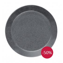 Teema dotted grey plat bord 26 cm
