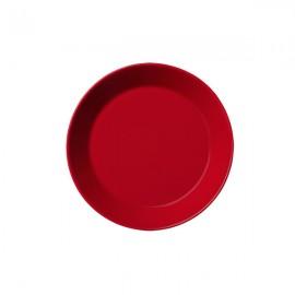 Teema rood plat bord 17 cm