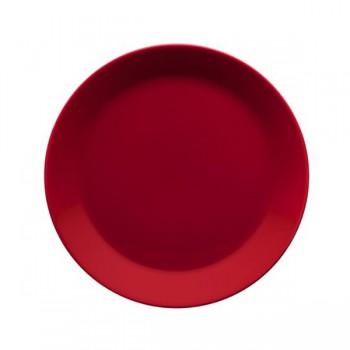 Teema rood plat bord 21 cm