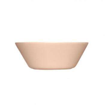 Teema poeder roze schaal/diep bord 15 cm