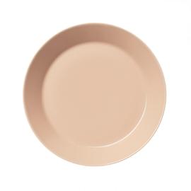 Teema poederroze plat bord 21 cm