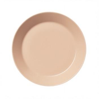Teema poeder roze plat bord 21 cm