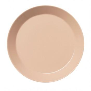 Teema poeder roze plat bord 26 cm