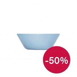 Teema lichtblauw schaal/diep bord 15 cm (leverbaar vanaf begin december)