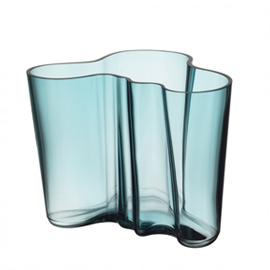 Aalto vaas 160 mm zeeblauw