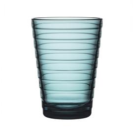 Aino Aalto glas 33 cl / 113 mm sea blue