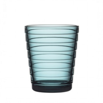 Aino Aalto glas 22 cl / 90 mm zeeblauw
