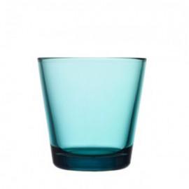 Kartio zeeblauw glas 21 cl / 80 mm