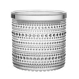 Kastehelmi voorraadpot helder 116x114 mm