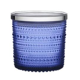 Kastehelmi jar ultramarijn blauw 116x114 mm seasonal product 2017 op=op!