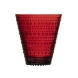 Kastehelmi glas cranberry red 30 cl