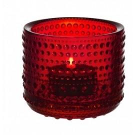 Kastehelmi windlicht cranberry 64mm