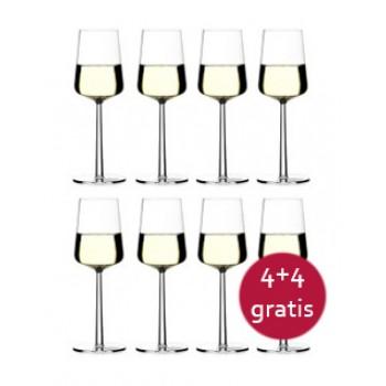 Essence wit wijnglas, 8 stuks
