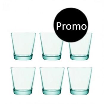 Kartio watergroen glas 21 cl 6 halen 4 betalen
