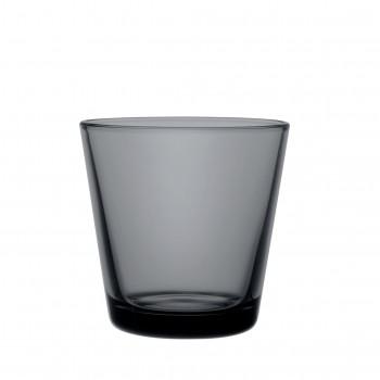 Kartio donkergrijs glas 21 cl / 80 mm nieuwe kleur!