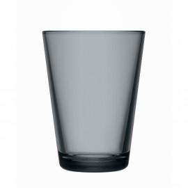 Kartio donkergrijs glas 40 cl / 120 mm  nieuwe kleur!
