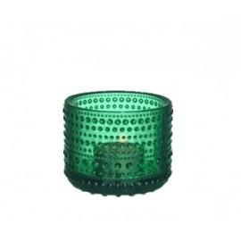 Kastehelmi windlicht emerald  (Gaat uit collectie!)