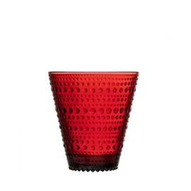 Kastehelmi glas cranberry rood 30 cl