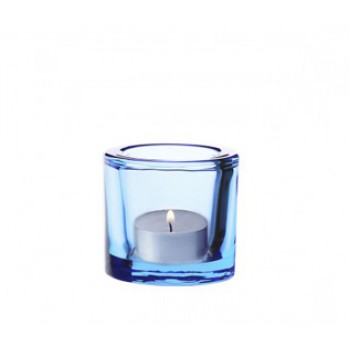 Kivi windlicht lichtblauw