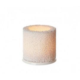 Fire sfeerlicht wit 9 cm