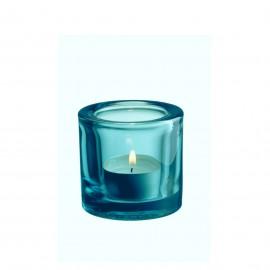 Kivi windlicht zeeblauw