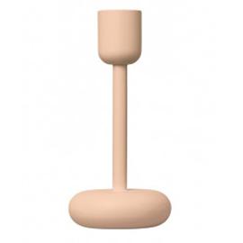 Nappula kandelaar poeder roze 183 mm