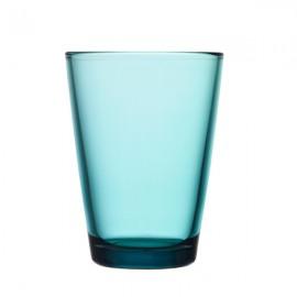 Kartio zeeblauw glas 40 cl / 120 mm