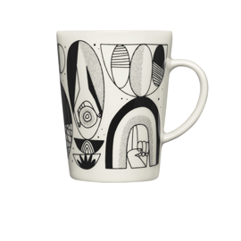Iittala Graphics mug 0,4L Shaped/shifted