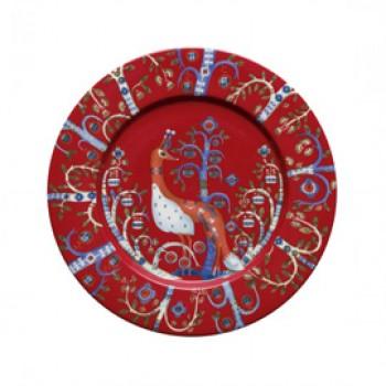 Taika rood bord 22 cm
