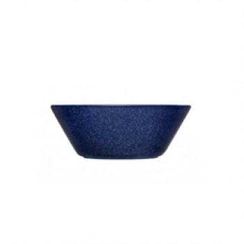 Teema dotted blue diep bord 15 cm