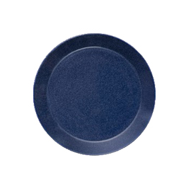 Teema dotted blue plat bord 17 cm